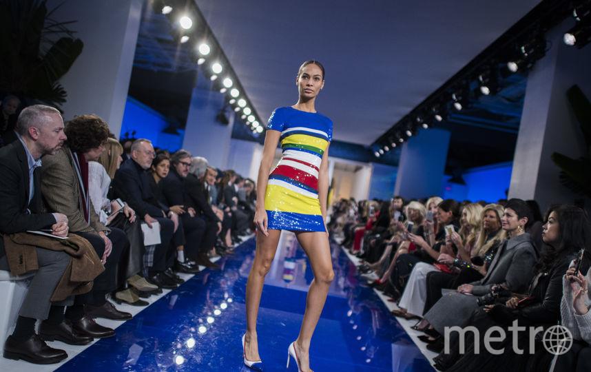 Показ Ральфа Лорена на Неделе моды в Нью-Йорке. Фото AFP