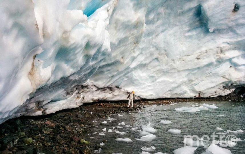 Бескрайние льды произвели самое сильное впечатление . Фото предоставлено героиней материала