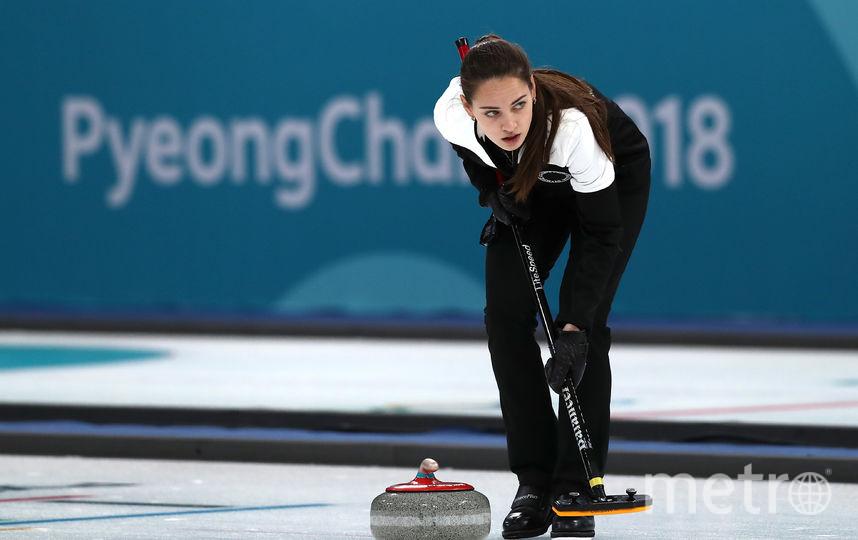 Кёрлинг на Олимпиаде. Фото Getty