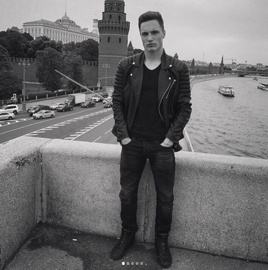 Футболист Станислав Манаев. Фото www.instagram.com/manaevv