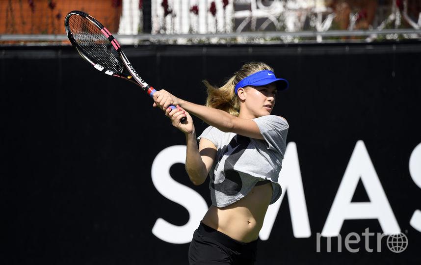 Канадская теннисистка, экс-пятая ракетка мира Эжени Бушар. Фото Getty