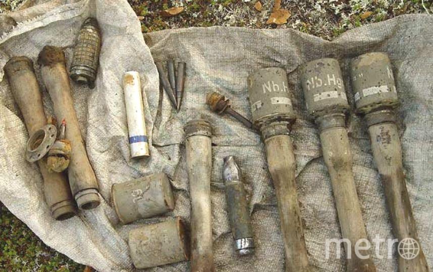 Снаряд уничтожат саперы. Фото архивные
