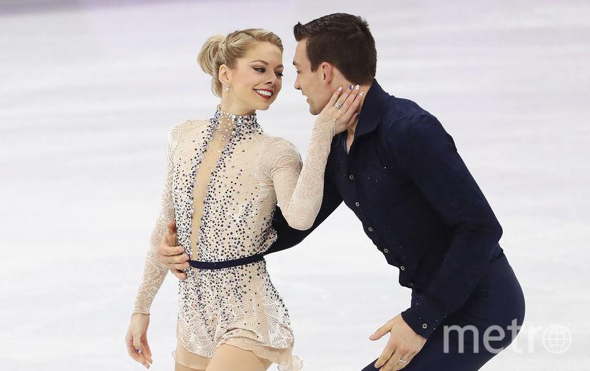 Пары не забыли про День Валентина даже на льду. Алекса Шимека и Крис Книрим. Фото Getty