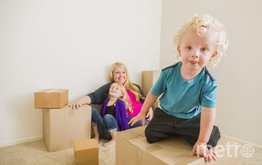 Рождение второго ребёнка может значительно повысить шансы на переезд в собственное жильё – ипотека для таких семей дешевеет до 6%. Фото pressfoto
