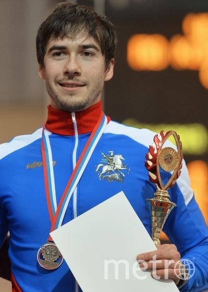 Конькобежец Сергей Грязцов. Фото РИА Новости