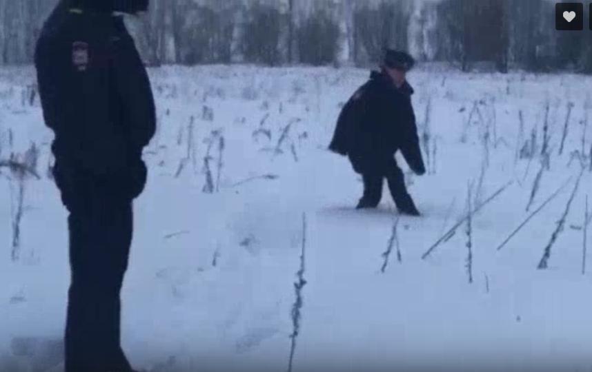 Кадры после крушения Ан - 148 в Подмосковье.