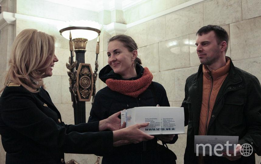 """""""Вечная любовь в метро"""". Фото Святослав Акимов, """"Metro"""""""