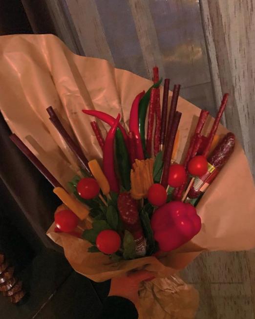 "Ещё один ""букетик для любимого"". Фото Instagram @sabina_c_b"