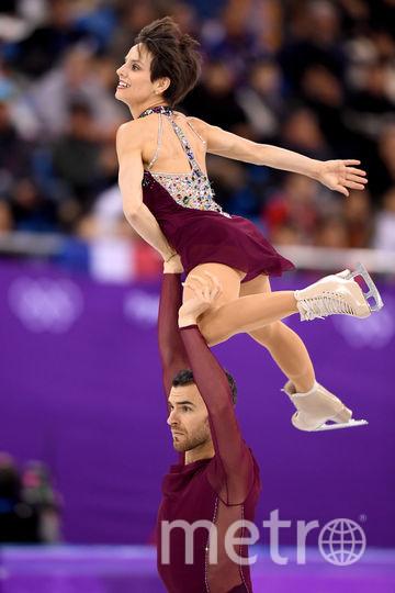 Соревнования спортивных пар на Олимпиаде в Пхенчхане. Фото Getty