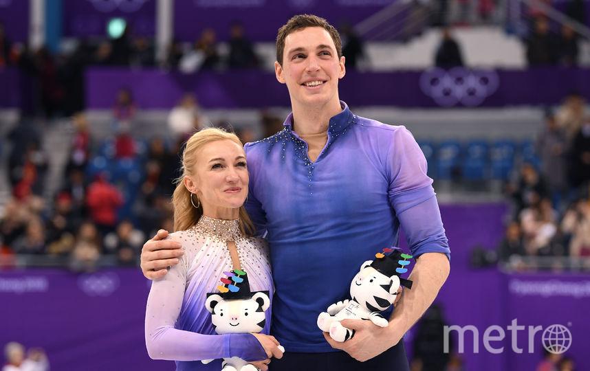 Алена Савченко с партнером. Фото Getty