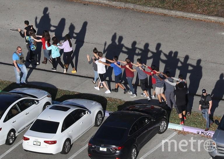 В результате стрельбы были убиты 17 человек. Фото AFP