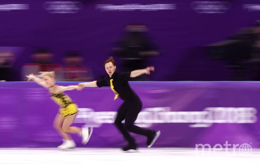 Соревнования спортивных пар на Олимпиаде в Пхенчхане. Евгения Тарасова и Владимир Морозов. Фото Getty