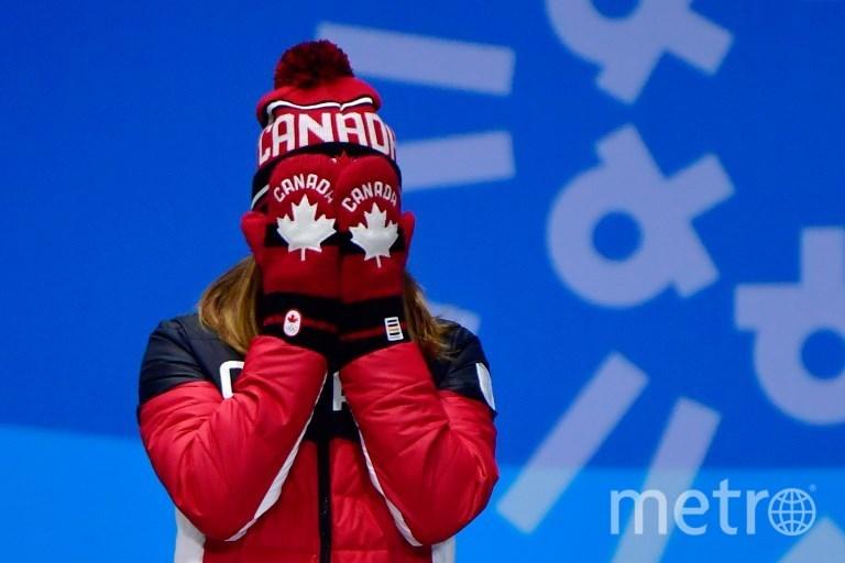 Канадская спортсменка Ким Бутен. Фото AFP