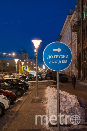 Необычные дорожные знаки появились в Петербурге. Фото предоставлены организаторами фестиваля