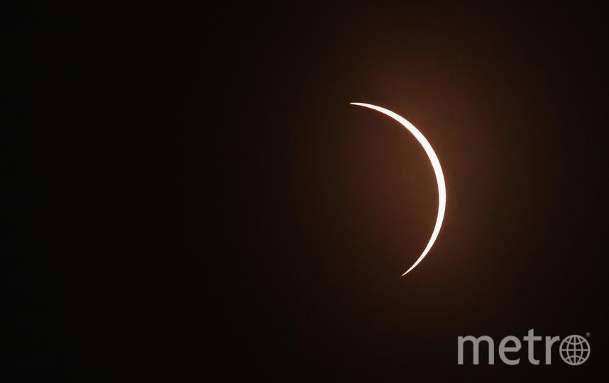 Как наблюдали солнечное затмение в 2017-м году. Фото Getty