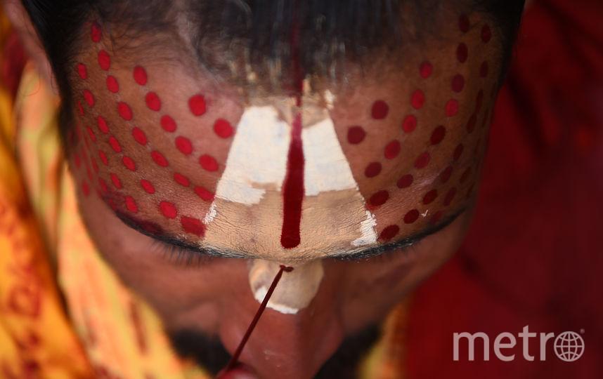 Тем кто бодрствует во время Шиваратри, в Пуранах обещано материальное процветание и место в раю, также любая медитация в эту ночь считается в 100 раз сильнее обычной, это связано с положением Солнца и Луны в это время. Фото AFP