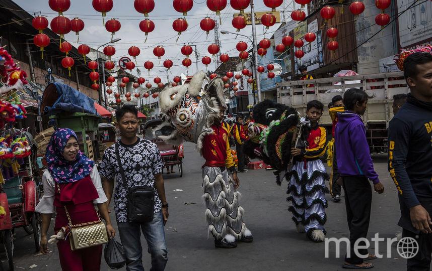 Фестиваль в Индонезии проводится как прелюдия к Китайскому Новому году. Фото Getty
