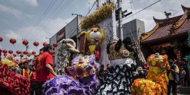 Фестиваль в Индонезии проводится как прелюдия к Китайскому Новому году.