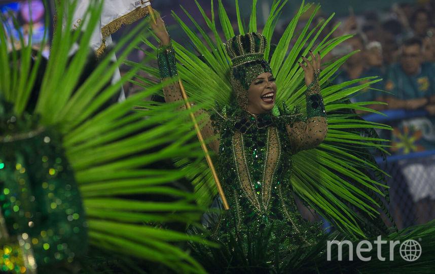 Карнавал в Рио-де-Жанейро длится восемь дней — с 9 по 17 февраля. Фото AFP