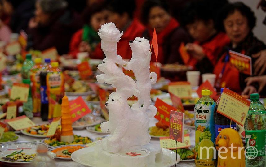 Кулинарный фестиваль в Китае проводится за неделю до праздника. Фото Getty