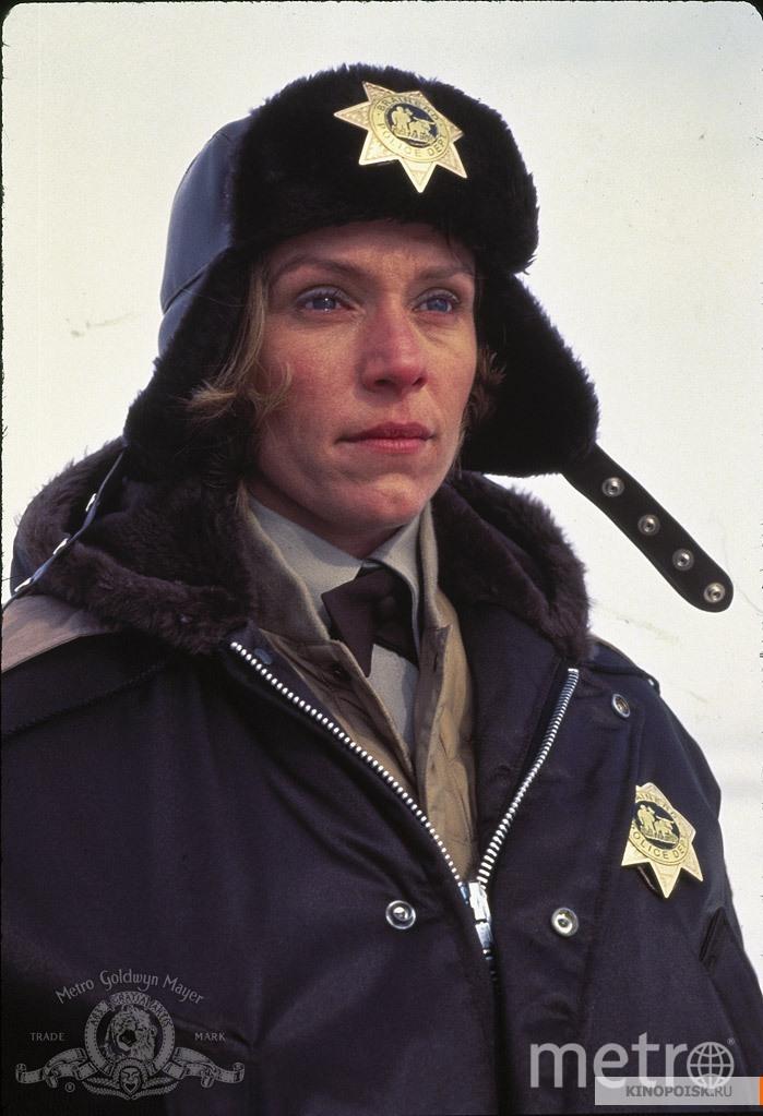 """Фрэнсис Макдорманд, кадр из фильма """"Фарго"""". Фото kinopoisk.ru"""