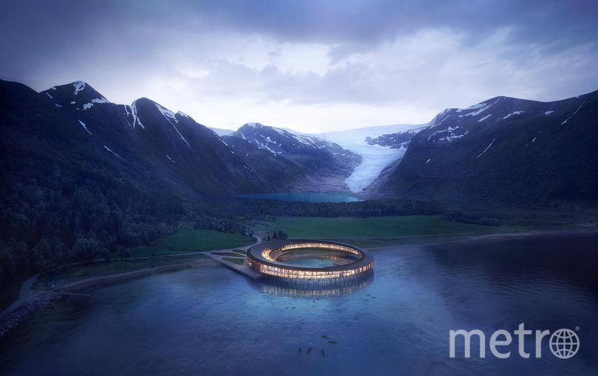 Отель-кольцо. Фото snohetta