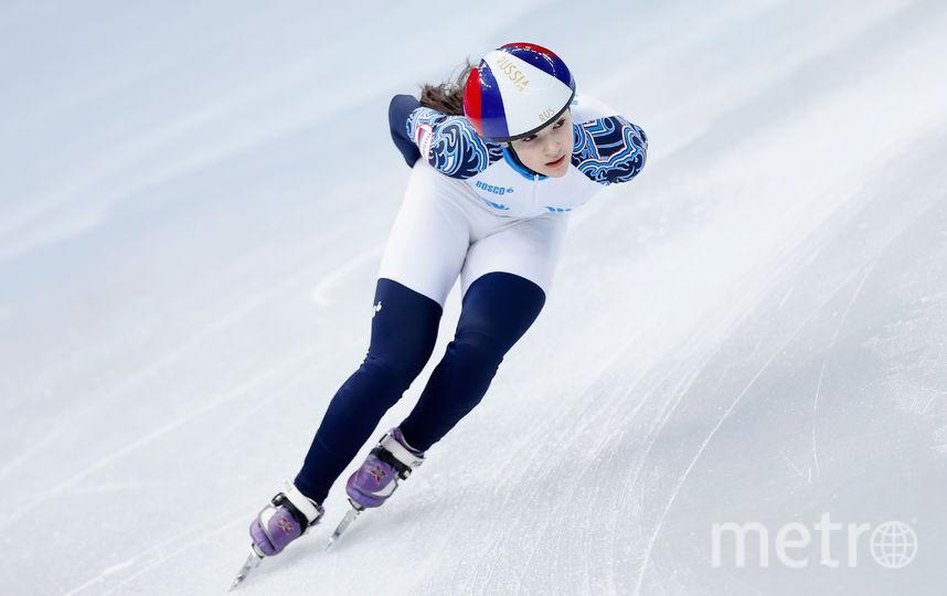 Софья Просвирнова дебютировала на Олимпийских играх 2014 года в Сочи. Фото Getty
