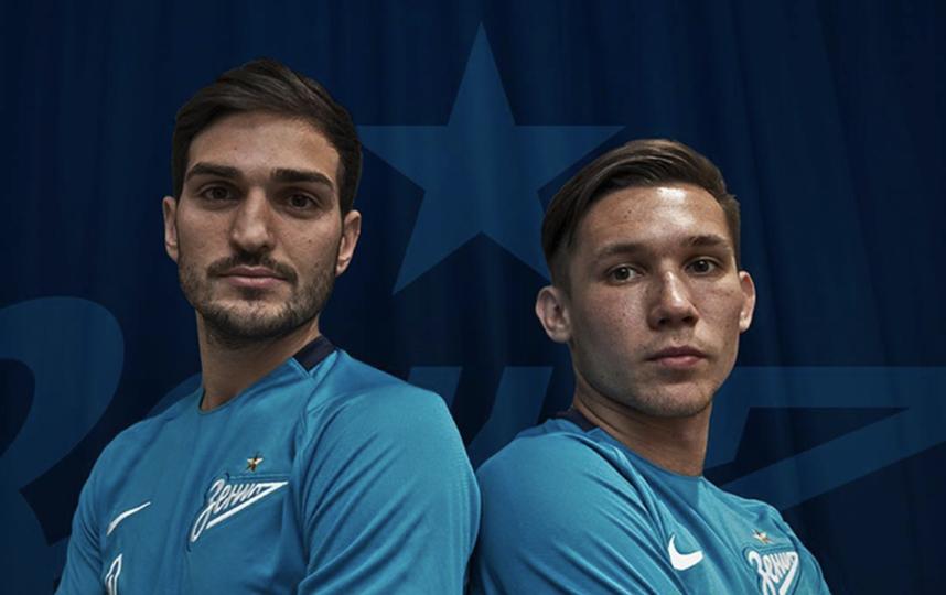 Магомед Оздоев и Эльмир Набиуллин. Фото Instagram @zenit_spb