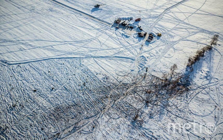 Место крушения Ан-148. Фото AFP
