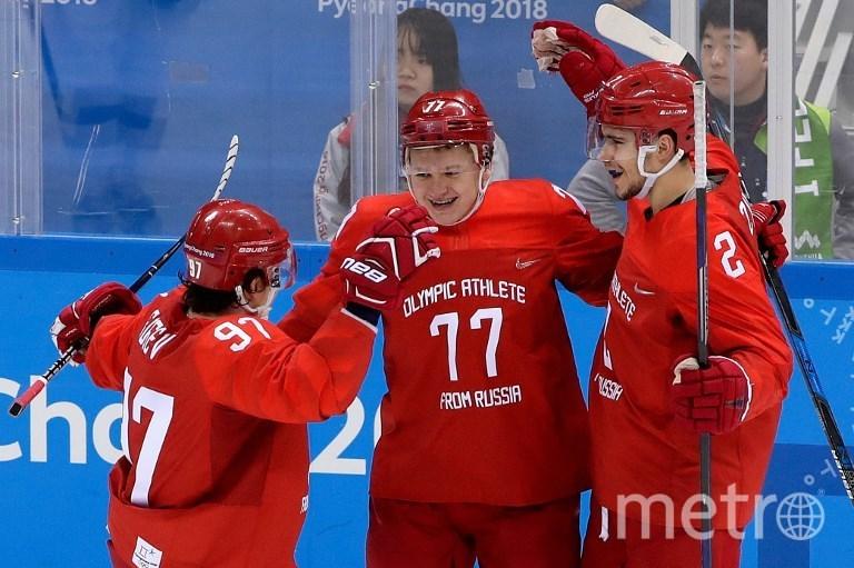 Российские хоккеисты. Фото AFP