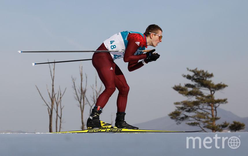Денис Спицов в Пхенчхане. Фото AFP