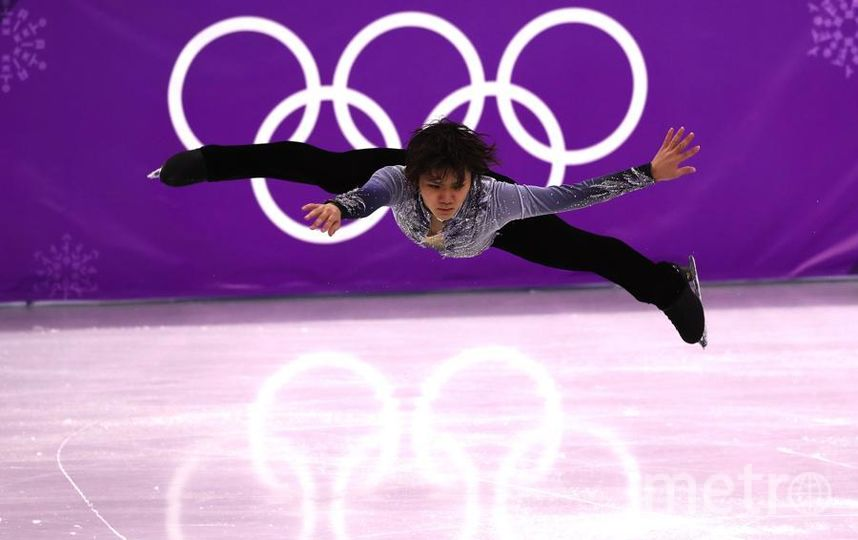 Яркие фото Олимпийских Игр. Сёма Уно - японский фигурист. Фото Getty