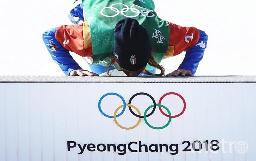 Яркие фото Олимпийских Игр. Итальянская сноубордистка Michela Moioli. Фото Getty