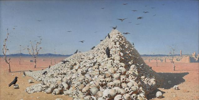 Одна из самых известных картин Василия Верещагина –