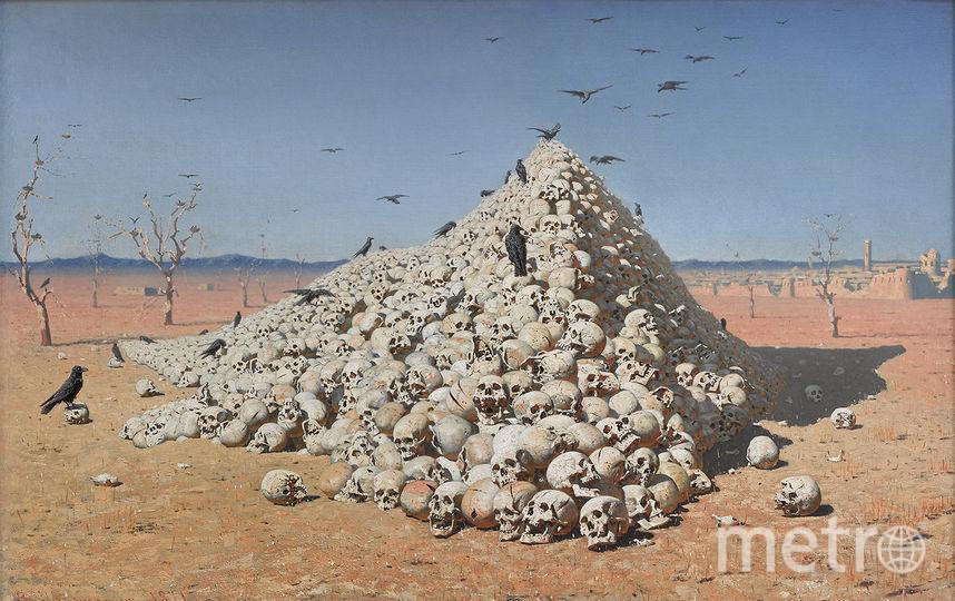 Одна из самых известных картин Василия Верещагина – «Апофеоз войны». Фото Третьяковская галерея