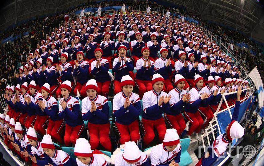 Яркие фото Олимпийских Игр. Северокорейские болельщицы впечатлили всех. Фото Getty