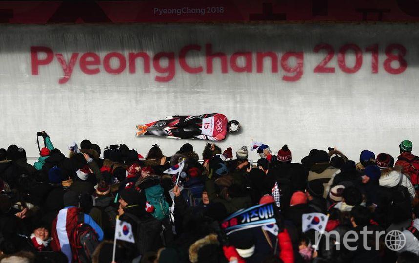 Яркие фото Олимпийских Игр. Канадский скелетонист Dave Greszczyszyn. Фото Getty