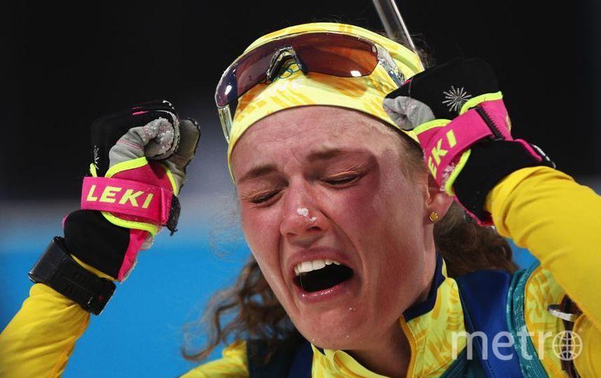 Яркие фото Олимпийских Игр. Ханна Эберг - шведская биатлонистка. Фото Getty