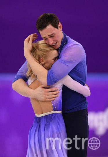 Яркие фото Олимпийских Игр. Фигуристы Алена Савченко и Бруно Масс. Фото Getty