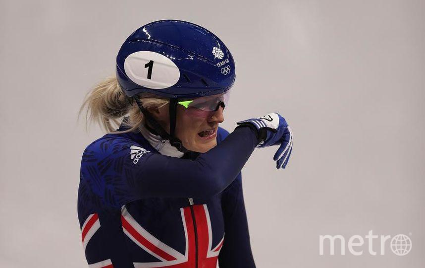 Яркие фото Олимпийских Игр. Элиза Кристи - британская конькобежка. Фото Getty