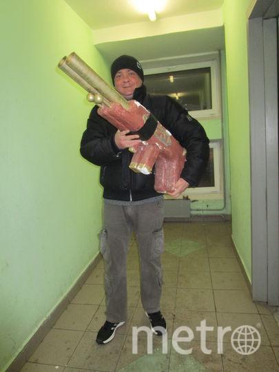 Ланивский Владимир со своей охотничьей двухстволкой. Фото Света Поморчук