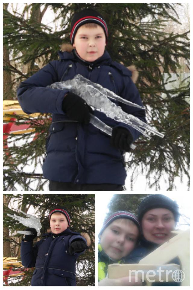 Меня зовут Ирина. Мой сын Леша самый лучший и любимый защитник. Будет защищать любыми средствами. Фото Ирина Иванова