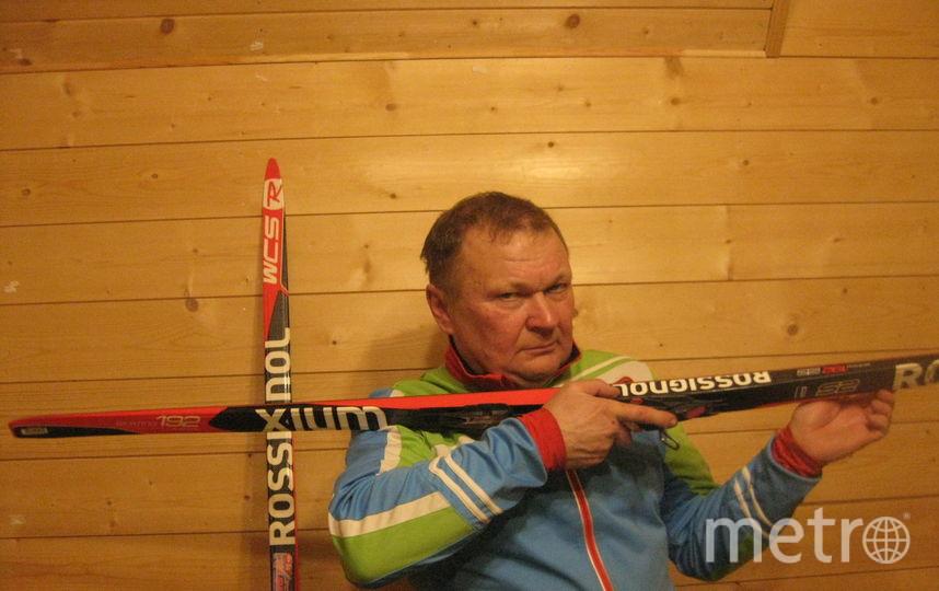 Вместо винтовки-лыжа. Фото Сергей Игнатов