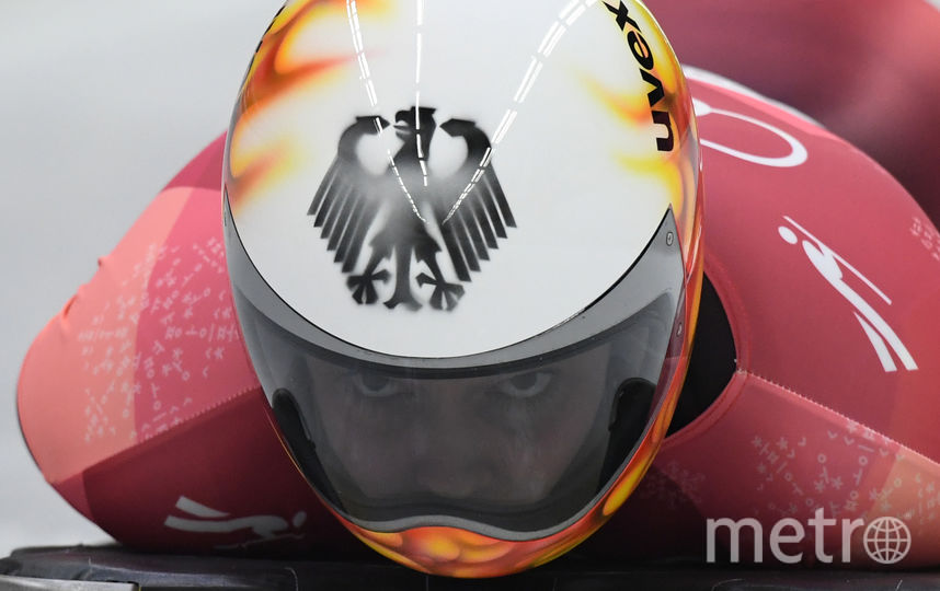 Классический шлем немки Анны Фернштадт. Фото AFP