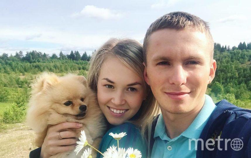 Денис Спицов со своей возлюбленной Ксенией. Фото предоставлено Ксенией Евлаковой.