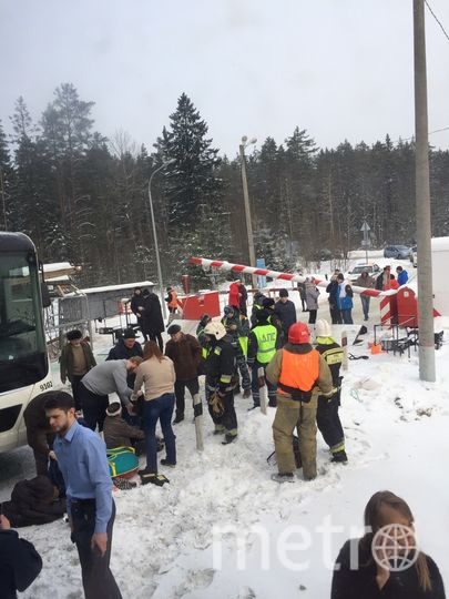 Страшное ДТП в Ленобласти: Электричка столкнулась с автобусом. Фото ДТП и ЧП | Санкт-Петербург | Питер Онлайн | СПб