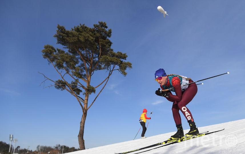 Российская лыжница Анна Нечаевская. Фото Getty