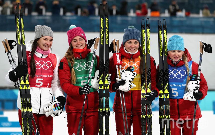 Российские лыжницы завоевали бронзовые медали эстафеты. Фото Getty