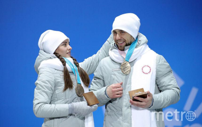 Александр КРушельницкий и Анастасия Брызгалова на Олимпиаде в Пхенчхане. Фото Getty