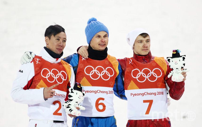 Фристайлер из России Буров взял бронзу в Пхенчхане. Фото Getty
